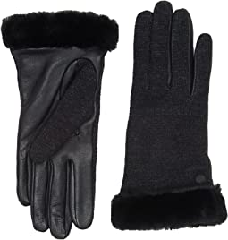 Shorty Smart Fabric Gloves w/ Short Pile Trim