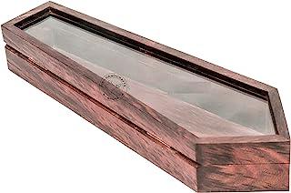هند هانديكرافتس متعددة الأغراض الخشب اليدوية الحُلِير/ربطة كم صندوق تخزين للرجال النساء اكسسوارات المنظم
