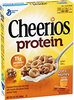 Cheerios Protein Cereal, Oats and Honey, 14.1 oz by Cheerios