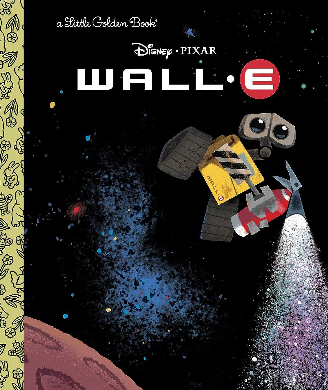 取り替えるデザイナー提案するWALL-E (Disney/Pixar WALL-E) (Little Golden Book) (English Edition)