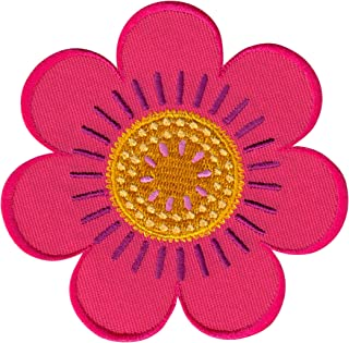 PatchMommy Flower Patch, Iron On/Sew On - Appliques for Kids Children