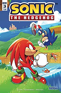 SONIC THE HEDGEHOG #3 COVER A