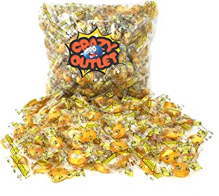 CrazyOutlet Pack - Double Honey Filled Hard Candy, Primrose Hard Candy, Bulk Pack, 2 lbs