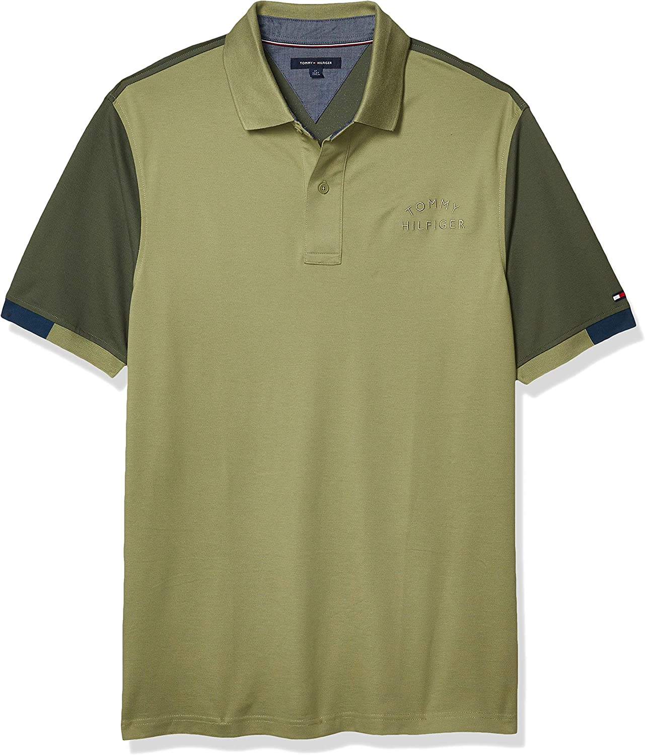 Tommy Hilfiger Men's Big and Tall Polo Shirt