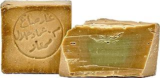 Carenesse Original Aleppo Seife 80% Olivenöl 20% Lorbeeröl ca. 200 g Olivenölseife traditionelle Handarbeit Haarseife Duschseife Rasierseife Handseife Naturseife Stückseife Vegan Naturkosmetik