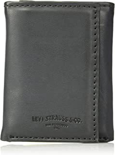 Men's Trifold Wallet – Sleek and Slim Includes ID Window and Credit Card Holder