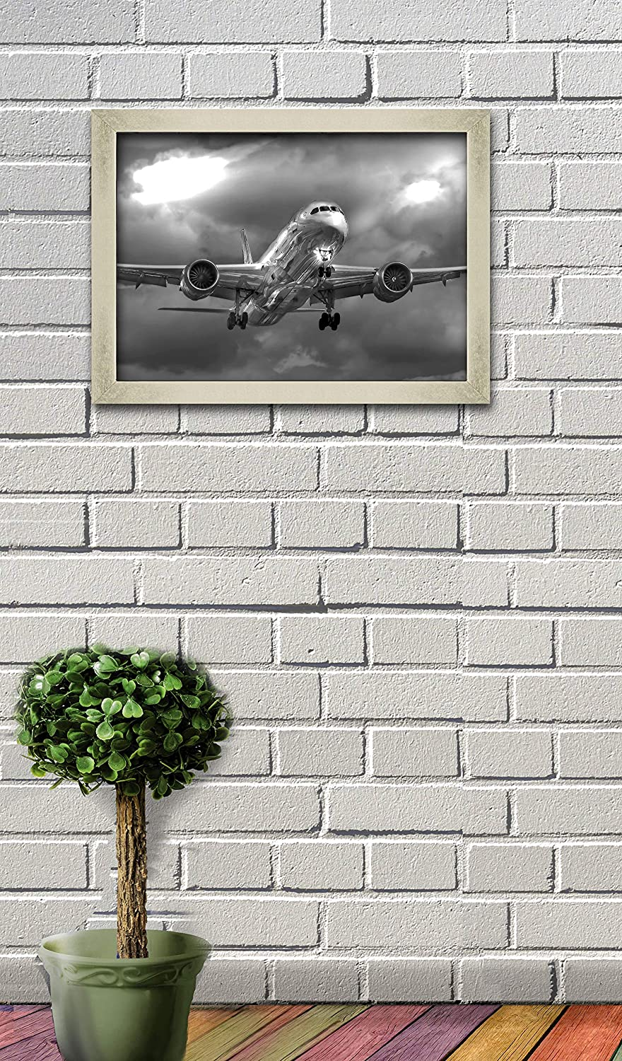 Home Art Wall Decor Dreamliner Boeing-787 Oil Painting Picture Printed On Canvas