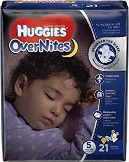 huggies overnight size 5 21 count