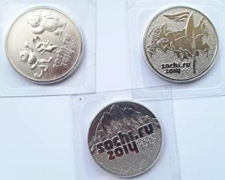 RU 2014 25 Ruble Coin Sochi Olympic Games Series Brilliant Uncirculated