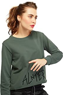 Ladies Motor Cycle Front Graphic Plain Cotton Long Sleeve Tops T Shirts 116