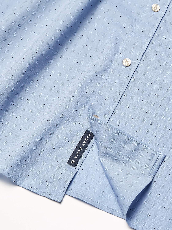 Perry Ellis Men's Big & Tall Dobby Dot Shirt