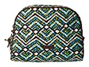 Vera Bradley Large Zip Cosmetic (Rain Forest)