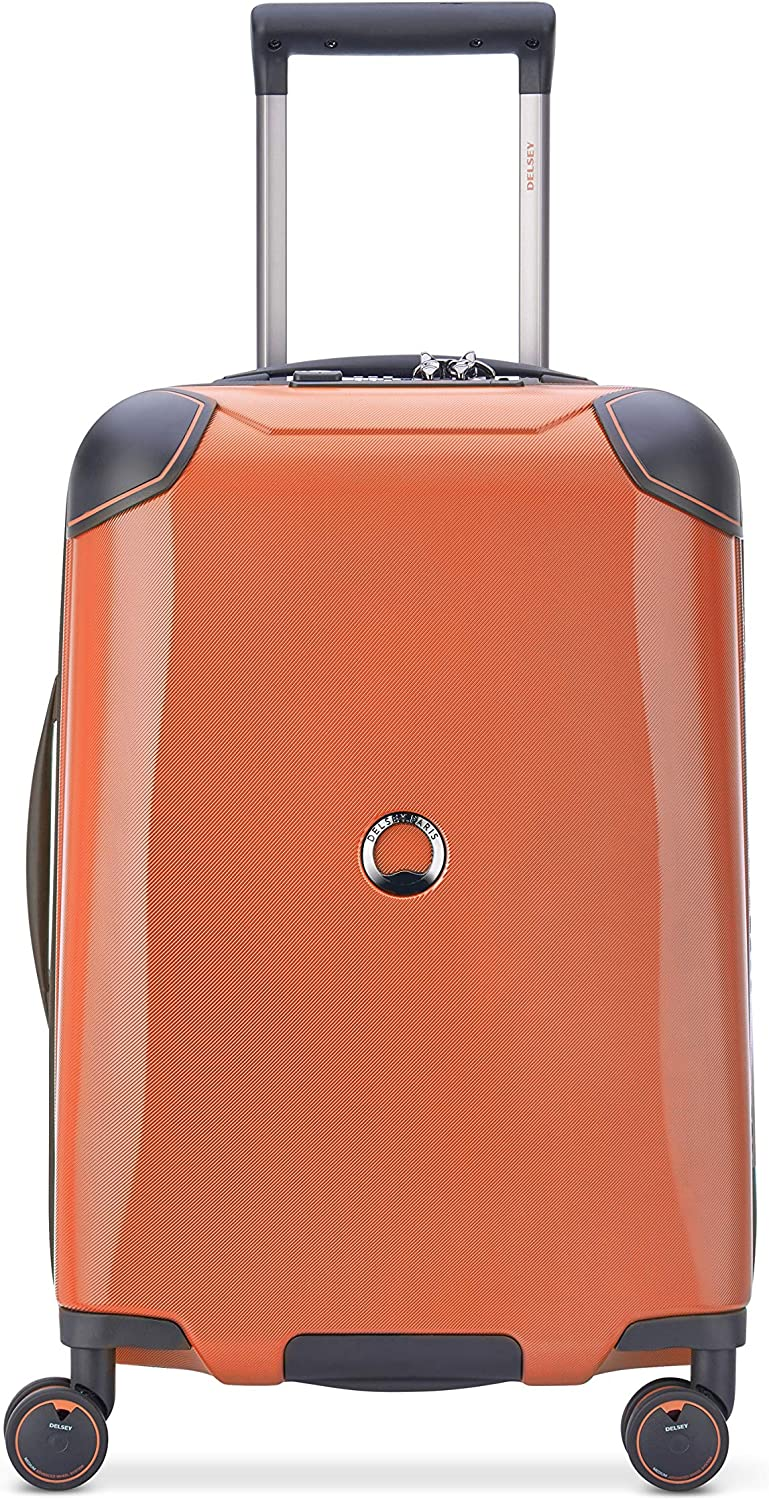 Ranking Easy-to-use TOP15 DELSEY Paris Cactus Hardside Luggage Wheels Spinner with Orange