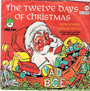 The Twelve Days of Christmas / Sleigh Ride / Jingle Bells 45 rpm