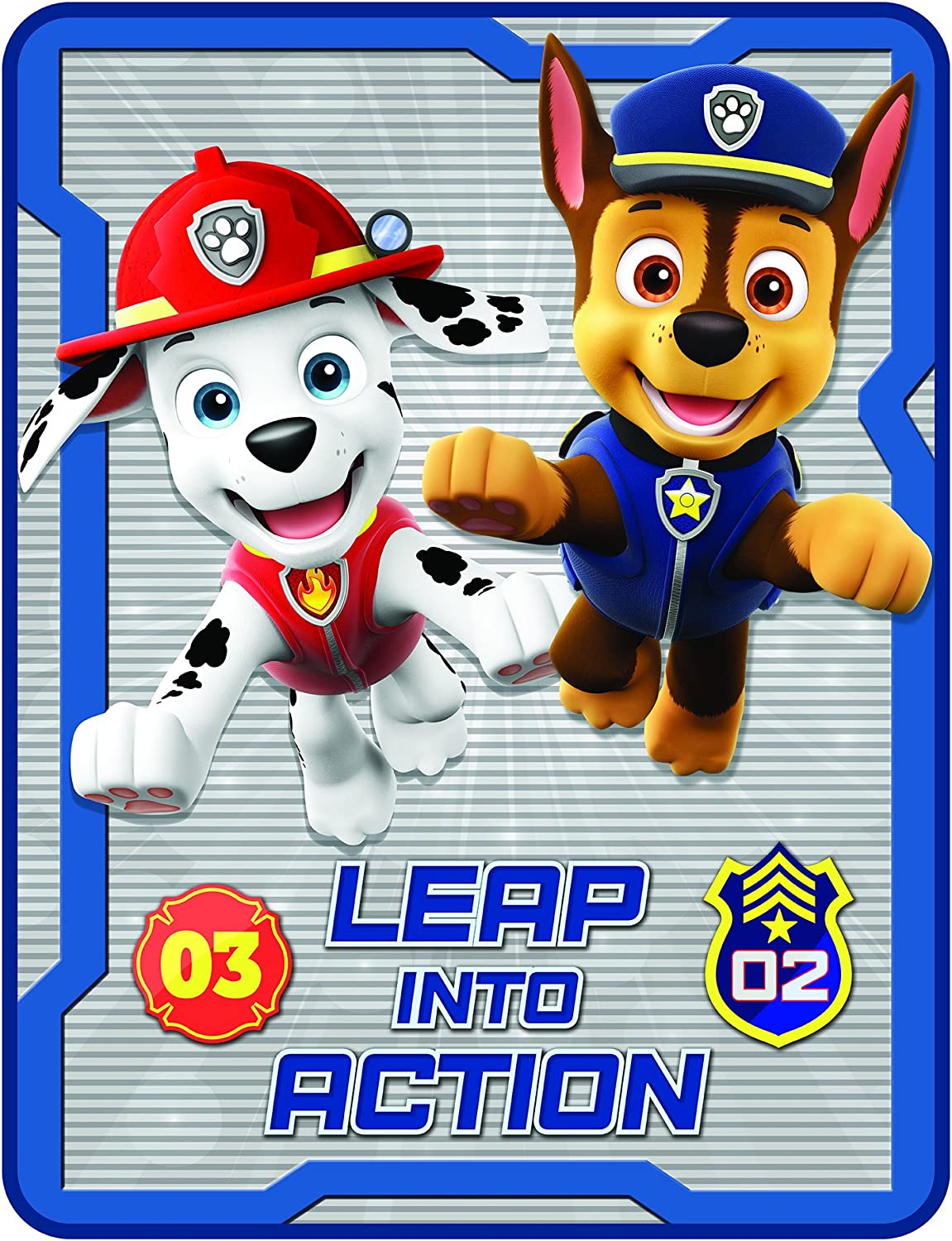 Nickelodeon Nickeldodeon PAW Patrol Make The Leap Microraschel Throw