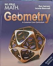 Big Ideas Math: A Common Core Curriculum Geometry Teaching Edition, 9781642087628, 1642087629