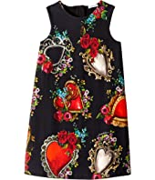Dolce & Gabbana Kids - Interlock Dress (Toddler/Little Kids/Big Kids)