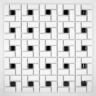 Best pinwheel mosaic floor tile Reviews