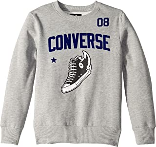 4a868debf6c8d5 Converse Kids Mens Chuck Graphic Crew Neck (Big Kids)