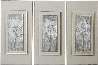 sepia trees wall panel