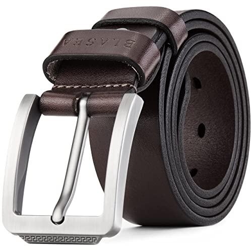 d318bda14052 Blasea Full Grain Leather Casual Style Belts for Men