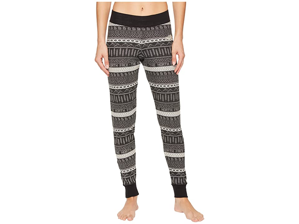 The North Face Holiday Nordic Waffle Pants (TNF Black) Women