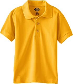 gold school polo shirts