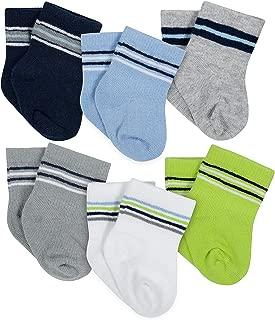 Gerber baby-girls 6-pair Sock baby-girl-hosiery