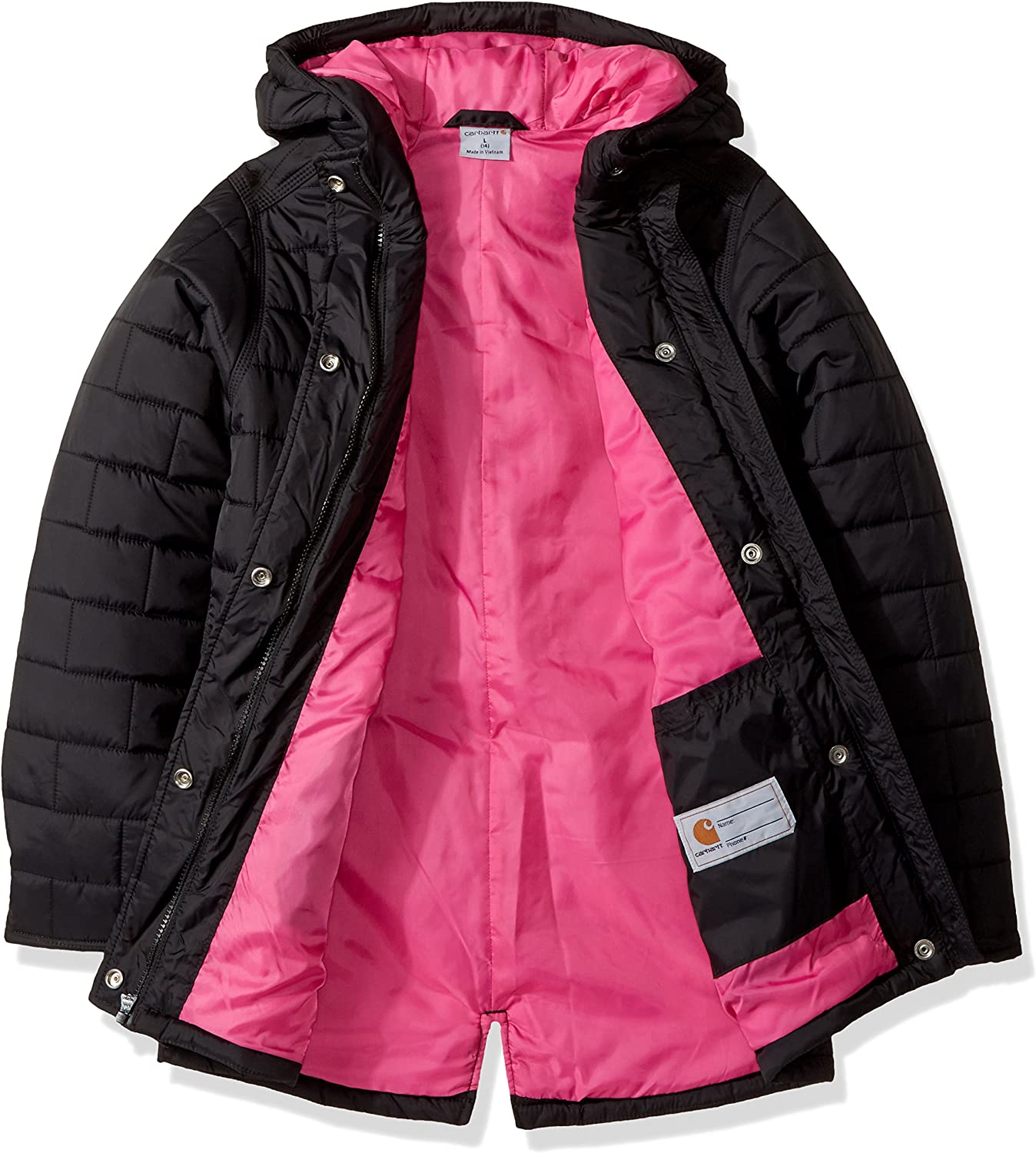 Carhartt Baby-Girls Amoret Quilted Jacket