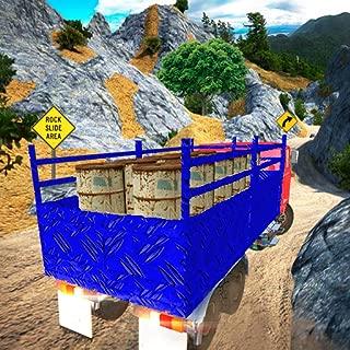Off-Road Truck Cargo Transport: Hill Climb Drive