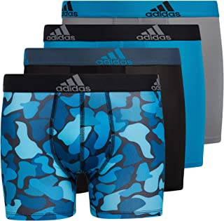 Kid's-Boy's Performance Boxer Briefs Underwear (4-Pack)