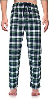 RK Classical Sleepwear Men's 100% Cotton Flannel Pajama Pants,