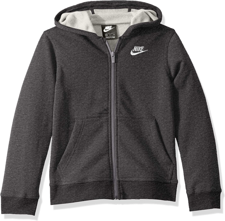 Nike Boys NSW Club Full Zip Hoodie: Clothing