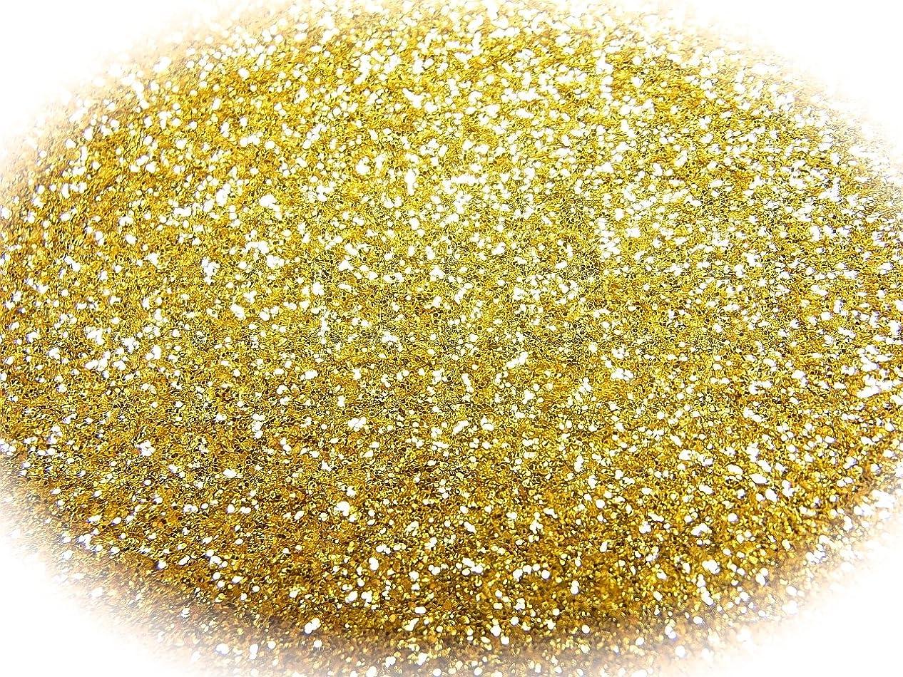 深める順応性のある蜜【jewel】グリッター ラメパウダー ゴールド 瓶入り