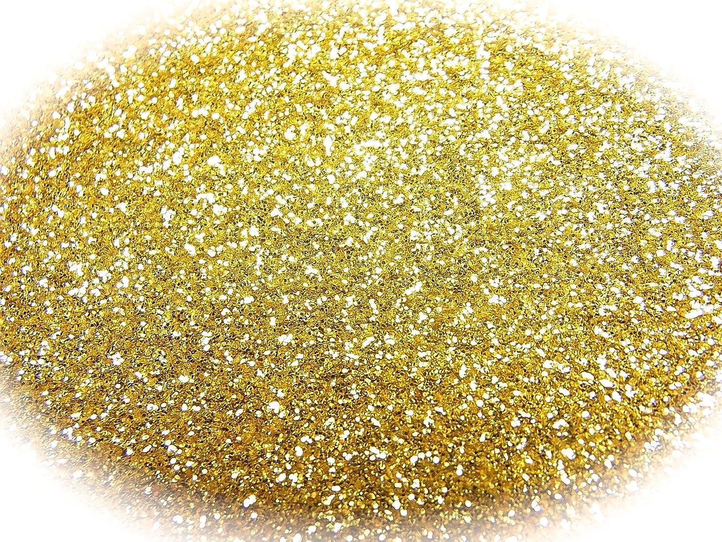 墓地強風モートグリッターラメパウダー 選べる12色 0.5g 瓶入り (ゴールド)