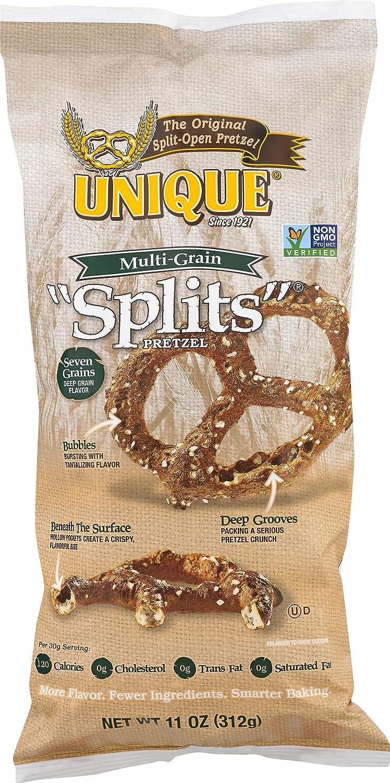 Unique Pretzels Multi-Grain Splits Pretzels, Original, 66 Ounce