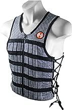 Hyperwear Hyper Vest PRO Unisex 10-Pound Adjustable Weighted Vest for Fitness Workouts (Renewed)