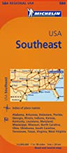 Best map of southern united states Reviews