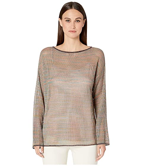 M Missoni Long Sleeve Fishnet Tunic in Space Dye
