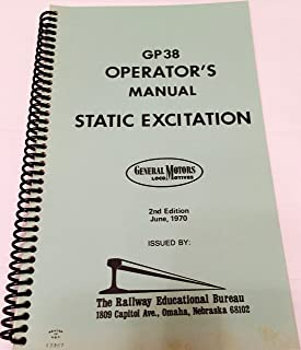 GP38 Operator's Manual Static Excitation