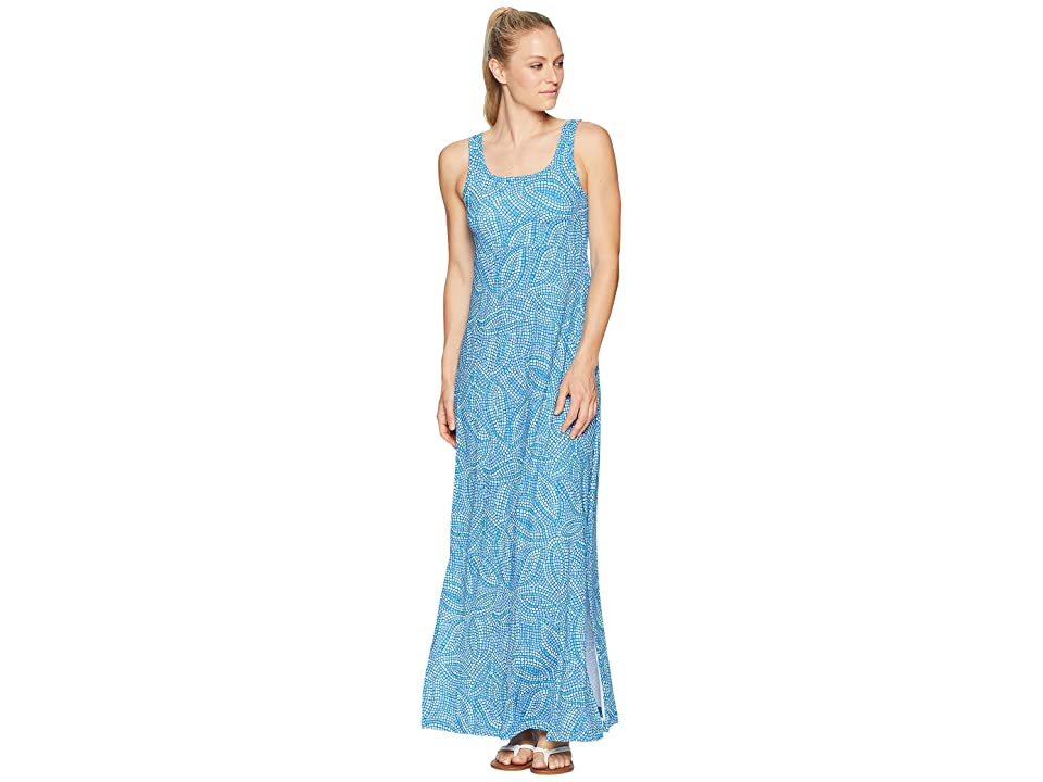 Columbia Freezertm Maxi Dress (Blue Macaw Mosaic Print) Women