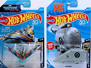 Hot Wheels 2018 Hw Screen Time - Marvel Guardians of The Galaxy Milano & Despicable Me Grumobile
