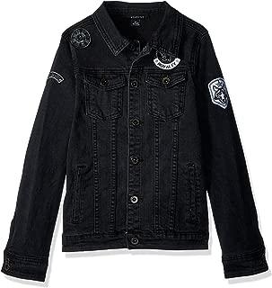Sean John Boys' Big Denim Patches Jacket