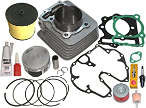 TOP NOTCH PARTS 440cc BIG BORE CYLINDER PISTON RINGS TOP...
