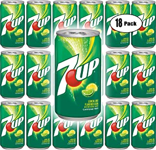7UP, 7.5 oz Can (Pack of 18, Total of 135 Fl Oz)