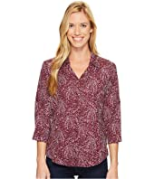 Royal Robbins - Expedition Chill Stretch Sky Print 3/4 Sleeve Top