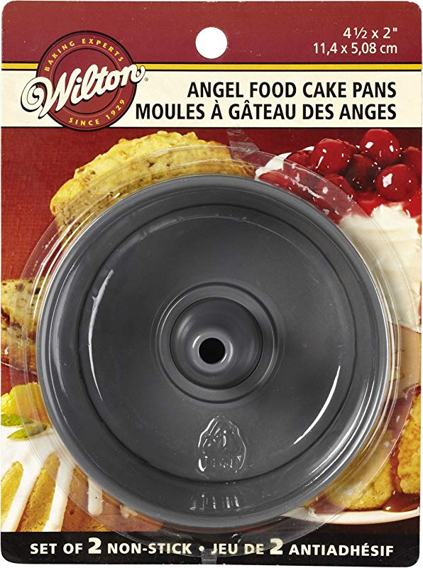 Wilton 2105 1827 Angel Food Pans Mini Set Of 2