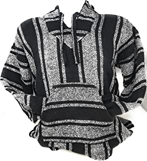 Authentic Mexican Baja Hoodie Sweater Pullover