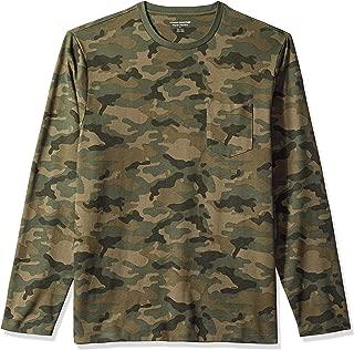 Men's Regular-Fit Long-Sleeve Pocket T-Shirt