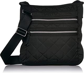 Iconic Triple Zip Hipster, Performance Twill, Black